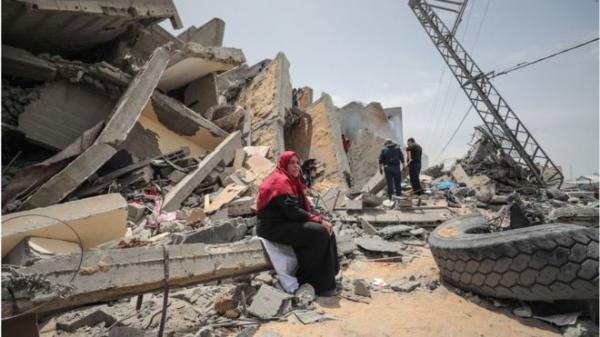 Foto Warga Gaza Jalani Bulan Ramadan di Tengah Gencatan Senjata