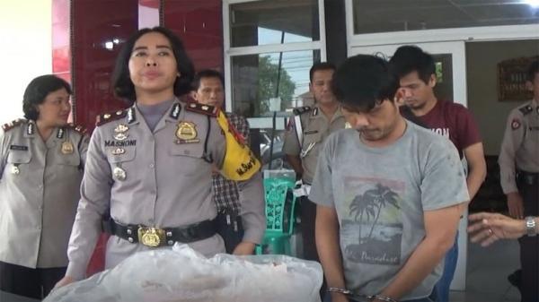Pembunuh Waria Ditangkap setelah Buron 3 Bulan, Pelaku Sakit Hati Diejek Korban