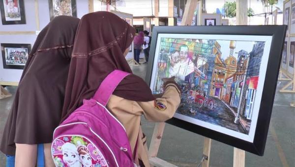 Puluhan Kartunis Kokkang Pamerkan Karya Bertajuk Merajut Indonesia