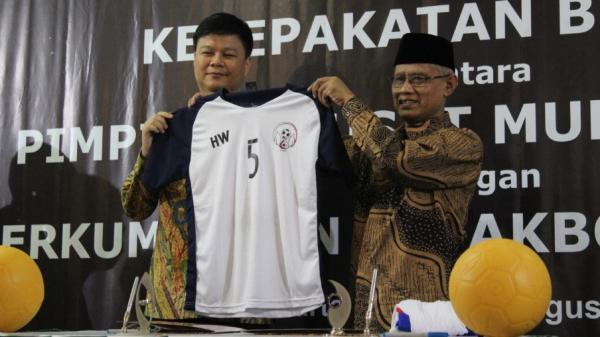 Muhammadiyah bersama Uni Papua Jadikan Sepak Bola Alat Membangun Bangsa