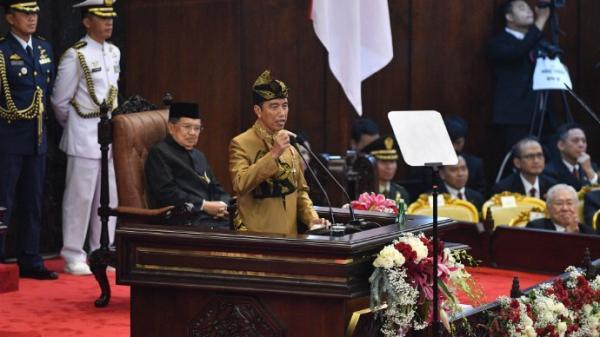 Ketika Jokowi Personifikasikan Persatuan Indonesia Seperti Kiambang