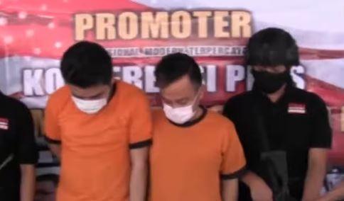 Video Penangkapan 2 Komika di Salemba terkait Kepemilikan Paket Narkoba