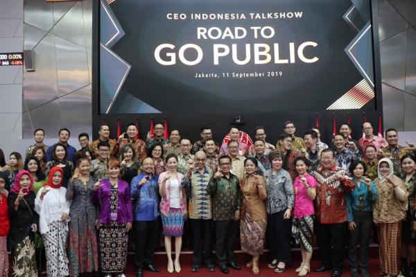 MNC Sekuritas dan Yayasan Global CEO Indonesia Beri Edukasi soal IPO