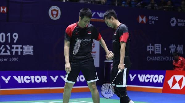 Hendra/Ahsan Absen di Korea Open 2019