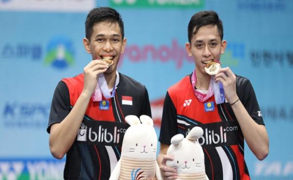 Juara Korea Open 2019, Fajar/Rian Targetkan Tembus BWF World Tour Finals