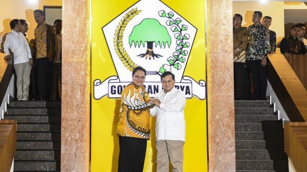 Safari Politik, Prabowo Bertemu Airlangga Hartarto