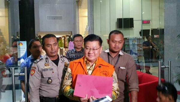 KPK Tahan Komisaris Utama PT WAE terkait Kasus Suap Restitusi Pajak