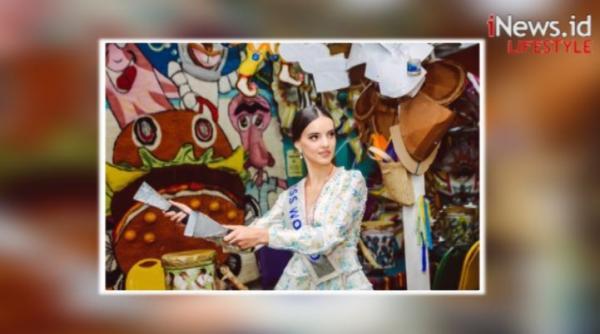 Potret Cantiknya Vanessa Ponce de Leon yang Siap Melepas Mahkota Miss World