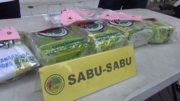 Polda Kepri Tangkap 2 Pria Kasus Kepemilikan Sabu 1,5 Kg di Batam