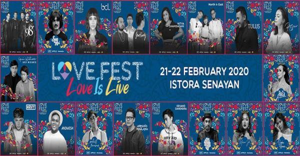 Love Fest 2020 Hadirkan 98 Degrees dan HRVY, Ini Harga Tiketnya