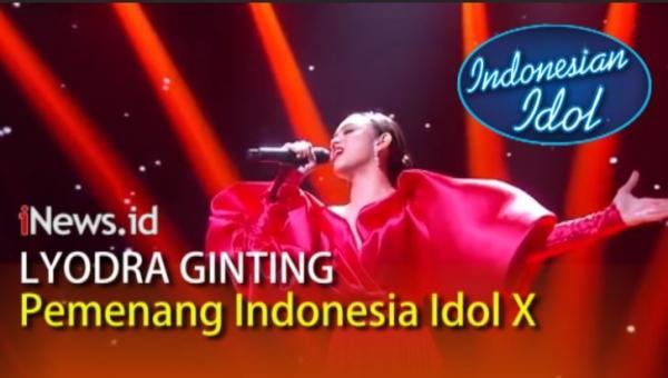 Video Kemenangan Lyodra Ginting di Indonesian Idol X, Tiara Anugrah Runner-Up
