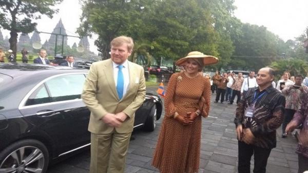 Kunjungan Raja dan Ratu Belanda ke Prambanan Jadi Promosi Wisata