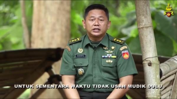 Imbau Warga Tak Mudik Pakai Bahasa Jawa Ngapak, Kapendam Diponegoro: Aja Balik Disik