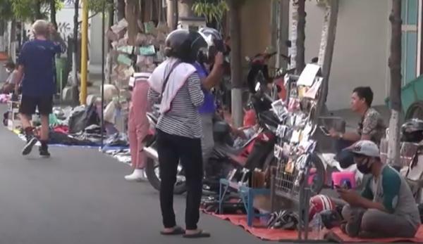 Jelang PSBB di Kota Tegal, Puluhan PKL Tuntut Kompensasi dari Pemkot