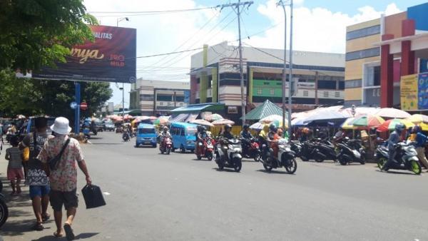 Satlantas Polres Kota Ternate Intensifkan Pengawasan di Titik-Titik Kemacetan