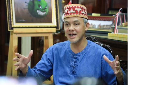 Tak Ada Open House, Ganjar Pranowo Gelar Halal Bihalal Virtual