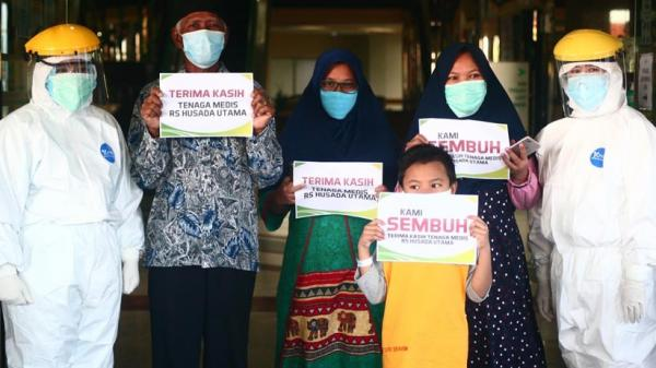 Kabar Baik di 24 Agustus, 85 Pasien di Sumsel Sembuh dari Covid-19