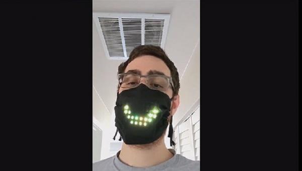 Programmer Komputer Bikin Masker yang Bisa Perlihatkan Pengguna Sedang Berbicara