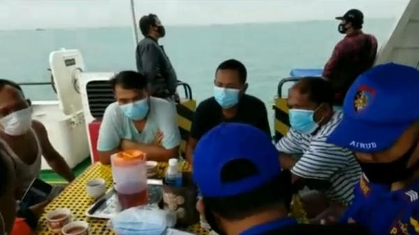 Kapal Multi Sahabat 8 Tenggelam di Batu Ampar Batam, Nakhoda Hilang