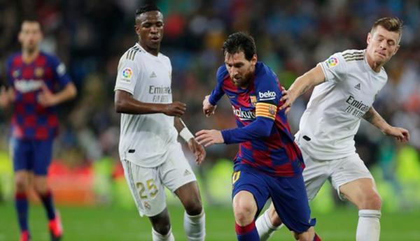 Adu Cepat Lari Pemain Real Madrid Vs Barcelona, Siapa Menang?
