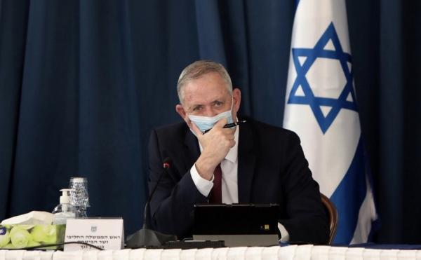 Menhan Israel Benny Gantz Jalani Karantina Setelah Kontak dengan Penderita Covid-19