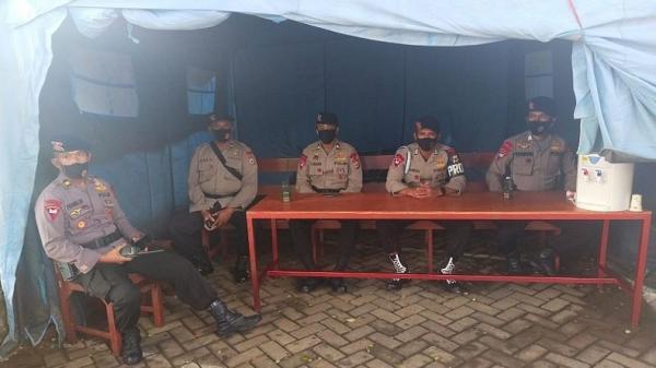 Bantu Pengamanan, Personel Brimob Diterjunkan di Rumah Sakit Rujukan Covid-19 di Ambon
