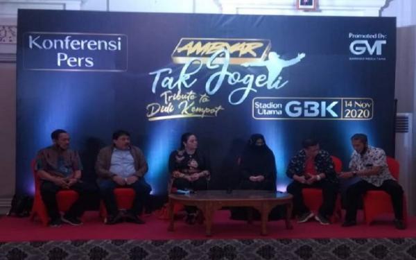 Perdana, 2 Istri Didi Kempot Tampil Bareng di Depan Publik