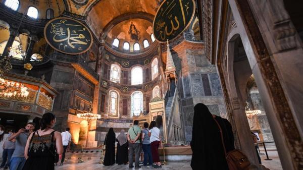 Foto-Foto Arsitektur Hagia Sophia, Ditetapkan Presiden Turki sebagai Masjid