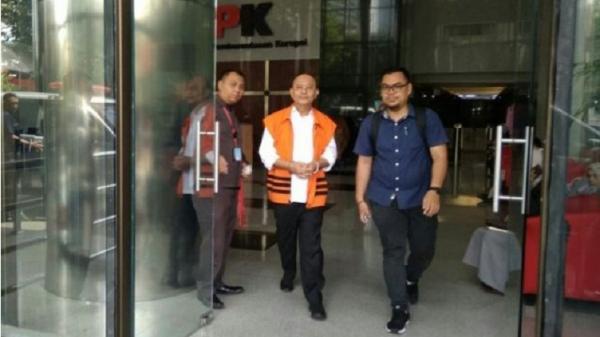 KPK Eksekusi Wali Kota Medan Nonaktif Dzulmi Eldin ke Lapas Tanjung Gusta