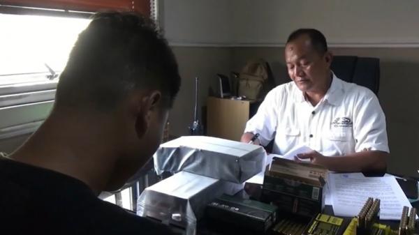 Bawa 920 Amunisi Aktif Ilegal, Atlet Menembak di Palembang Ditangkap Polisi