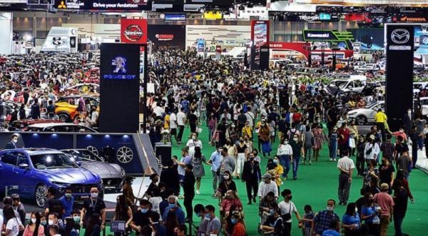 Di Tengah Covid-19, Pengunjung Bangkok Motor Show Tembus 1 Juta Orang