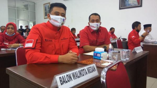 Ini Alasan Kader PDIP Tolak Bobby Nasution-Aulia Rahman di Pilwako Medan