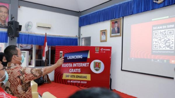 37.000 Pelajar di Semarang Dapat Kuota Internet Gratis