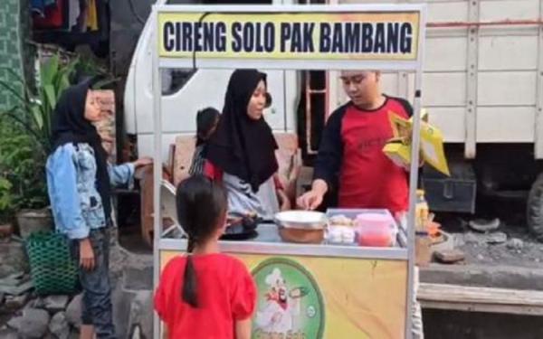 Viral Anak Pedagang Cireng Bergelar Master Wakili Indonesia di Konferensi Internasional