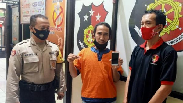 Pelanggar Lalin di Gresik Dibekuk Polisi karena Bawa 0,33 Gram Sabu