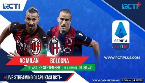 Live di RCTI+, Ini Prediksi AC Milan Vs Bologna, Selasa (22/9/2020) Dini Hari WIB