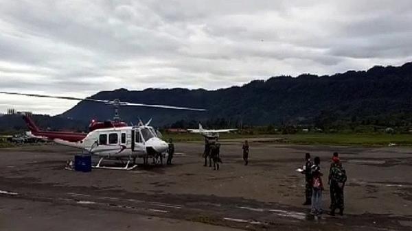 Heli Hilang Kontak di Nabire Papua Bawa 3 Penumpang, Begini Kronologinya