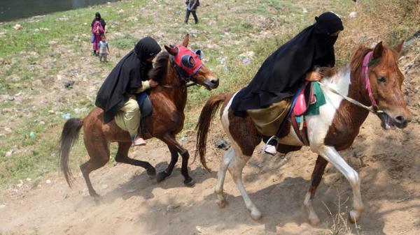 Olahraga Sambil Berdakwah dengan Komunitas Muslim Berkuda