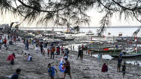 THP Kenjeran Ditutup, Pantai Ini Jadi Lokasi Wisata Alternatif Warga Surabaya