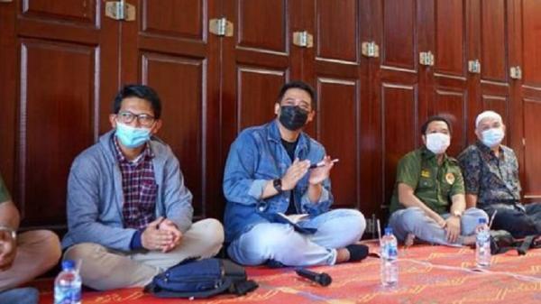 Bobby Nasution Temui Warga Anggrung, Ajak Semua Saling Jaga Kerukunan
