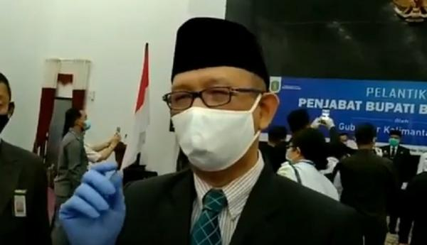 Gubernur Kalbar Lantik Kepala Dinas yang Baru, Kadis ESDM Ditiadakan