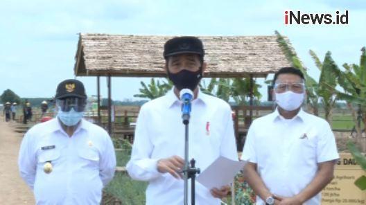 Video Presiden Jokowi Tinjau Food Estate di Pulang Pisau Kalteng