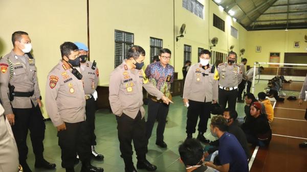 Polda Jateng Amankan 97 Orang yang Diduga Rusak Fasilitas Umum saat Demo Omnibus Law