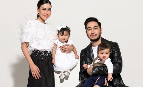 Syahnaz Sadiqah Fokus Urus Anak Kembar, Belum Ingin Kembali Syuting Sinetron