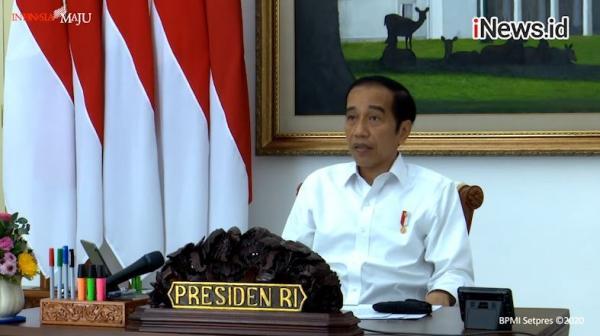 Jokowi Minta Stafsus Temui Demonstran Omnibus Law