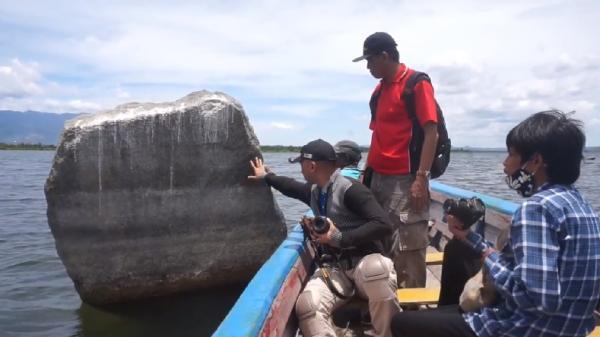 Cerita Batu Beranak di Danau Sentani, Diyakini Jelmaan Nenek Moyang Suku Tutari