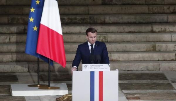 Guru di Prancis Dibunuh, Presiden Marcon: Kami Tak Akan Menyerah soal Kartun