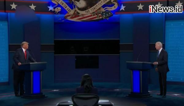 Video Momen Donald Trump dan Joe Biden saat Debat Terakhir Calon Presiden AS