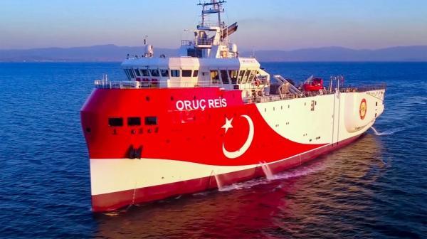 Turki Perpanjang Masa Pencarian Gas Alam Kapal Oruc Reis di Laut Mediterania
