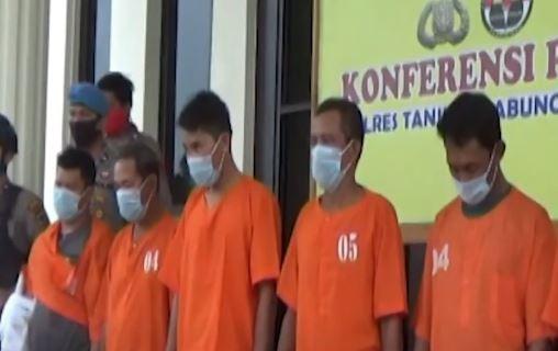 Video 7 Perampok di Jambi Ditangkap Polisi, Pelaku Teman Korban